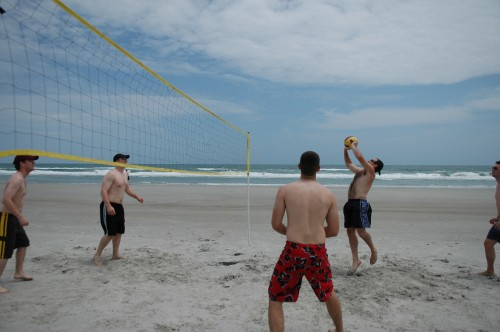 Memorial Day Beach Volleyball