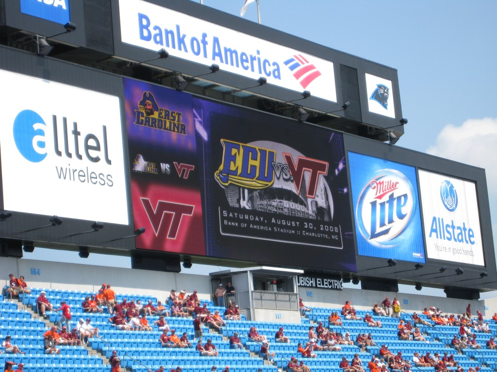 ECU vs VT Scoreboard 2008