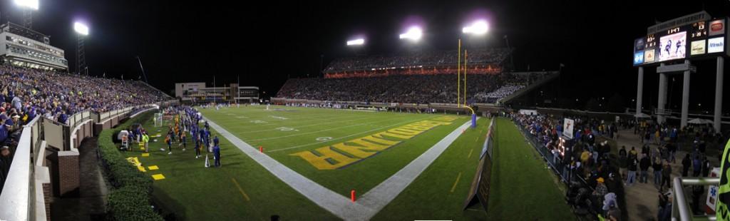 ECU Stadium During the ECU VT Game