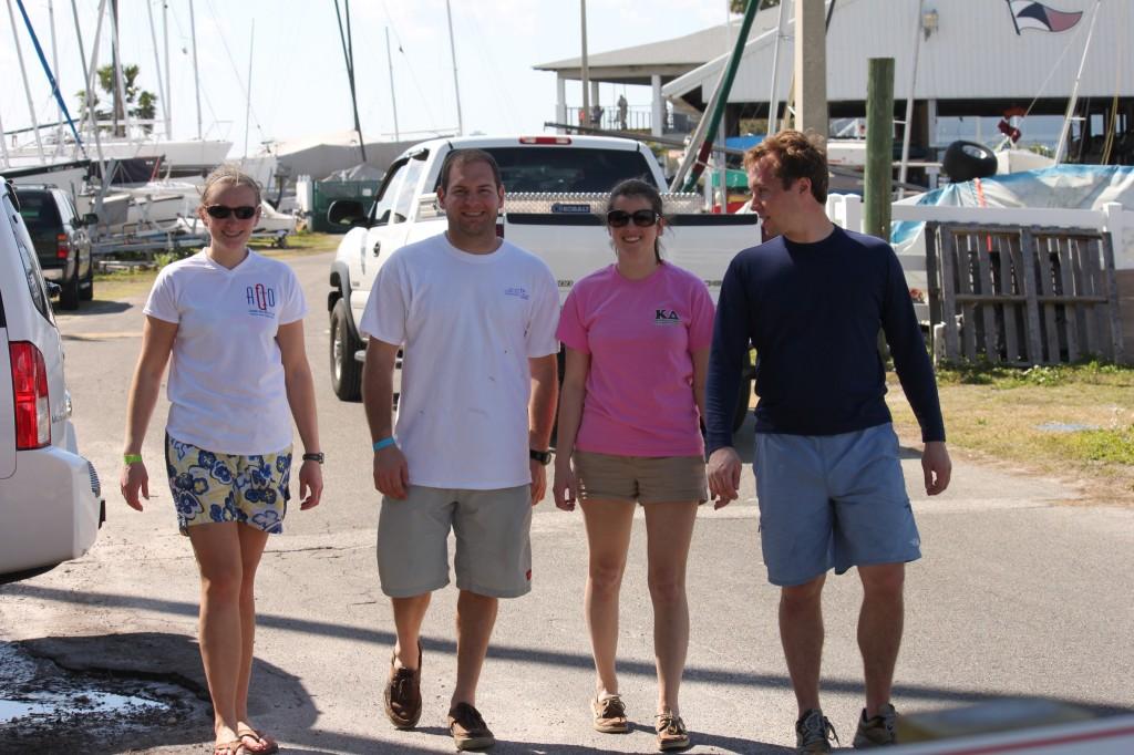 Mellisa, Jon, Sarah, Kevin at Front Runner Midwinters
