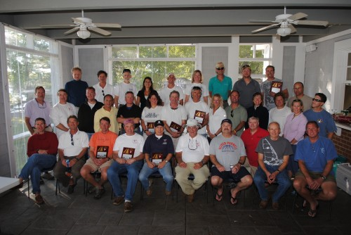 2010 Chesapeake Bay Laser Masters Group Shot