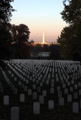 Washington Monument/Arlington Cemetary HDR