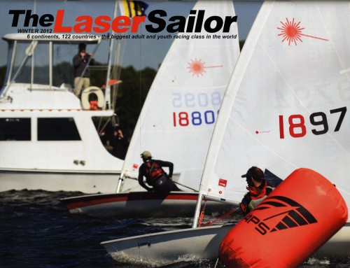 Winter 2012 The Laser Sailor Cover