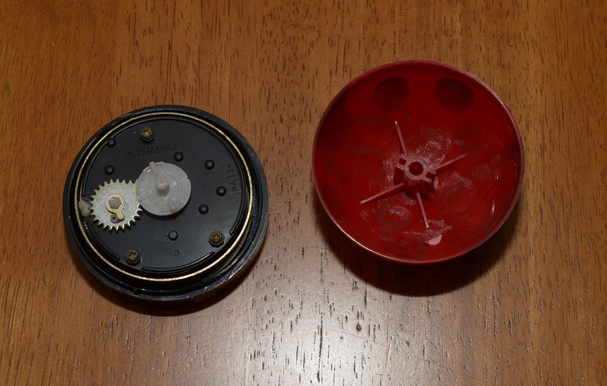 GoPro Timer pulled apart
