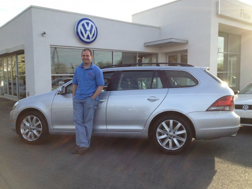 picking up the Jetta Sportwagen