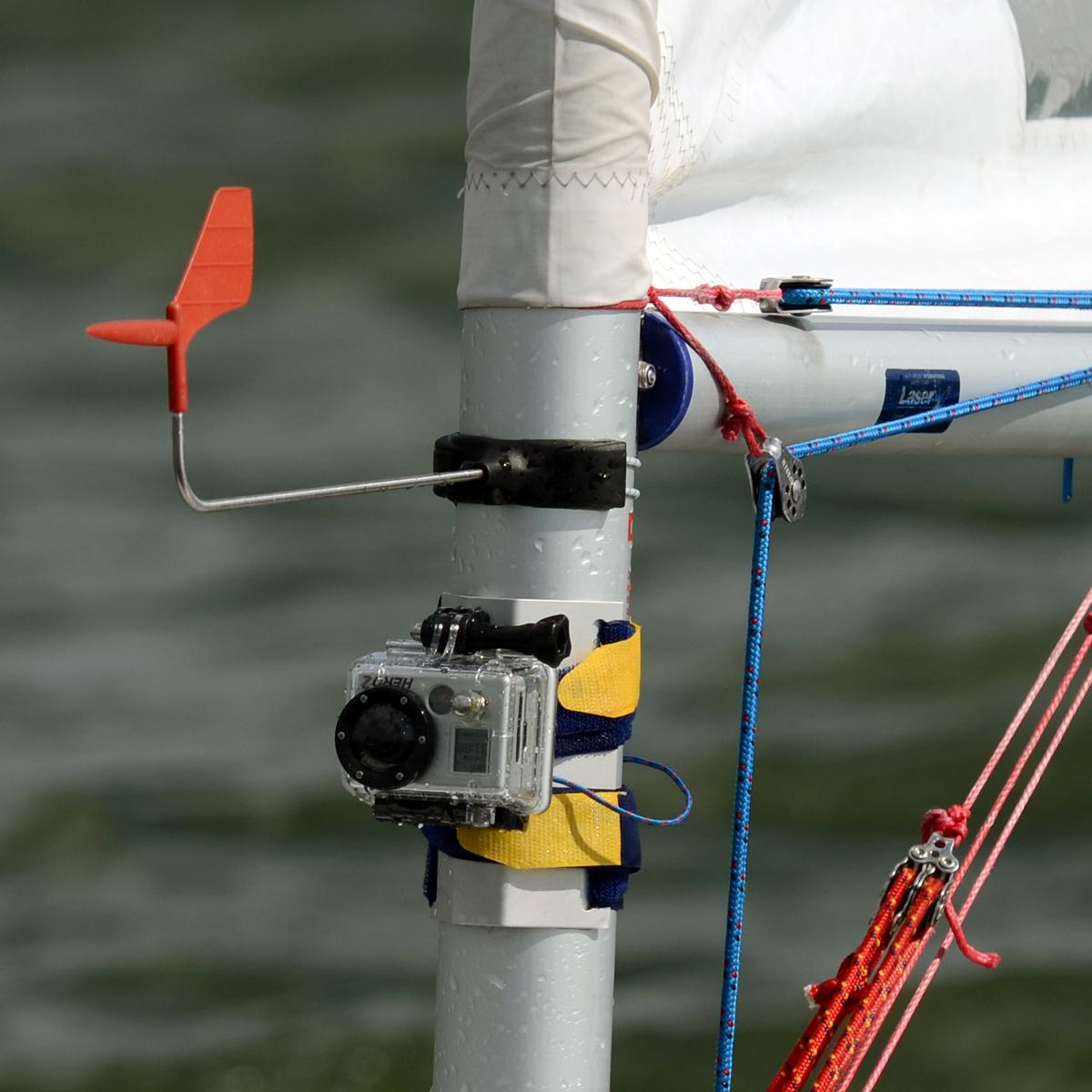 GoPro Mast Mount on a Laser