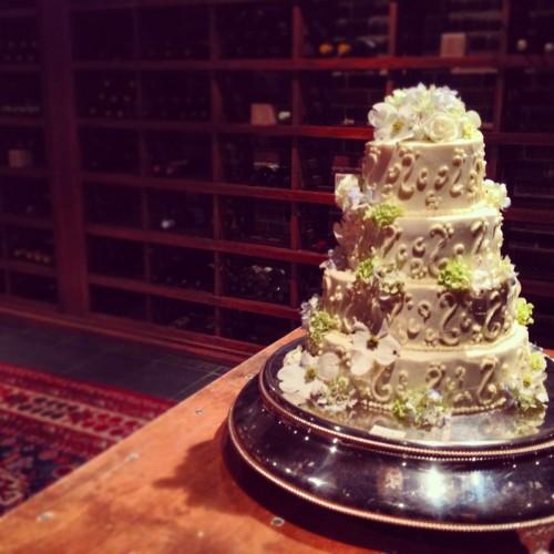 Jen & Joseph's Wedding Cake