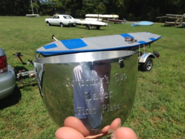 2012 Ware River Governor's Cup 1st Laser