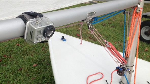 GoPro Boom Facing Starboard Mount