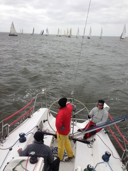2013 Annapolis NOOD: Sunday - Watching Fleets start