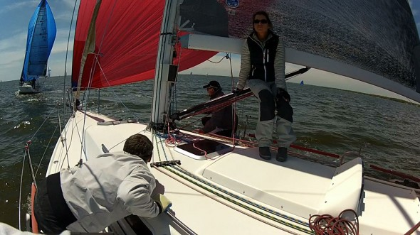 2013 Annapolis NOOD: Saturday going downwind