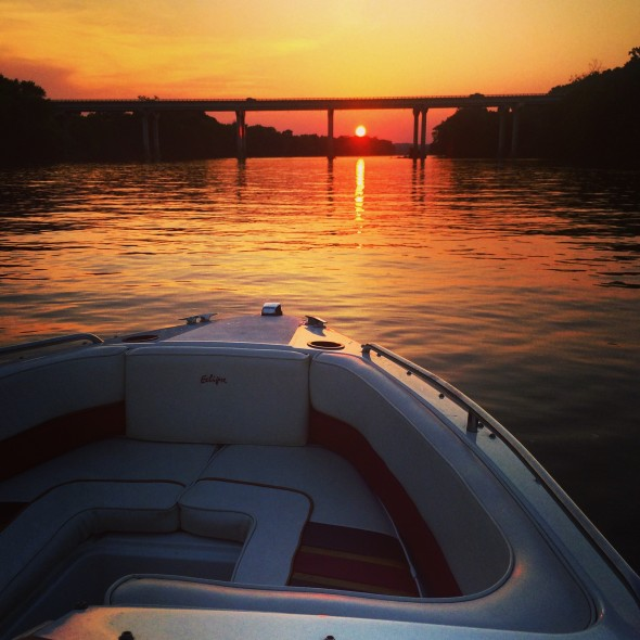 James River Sunset 6/17/2014