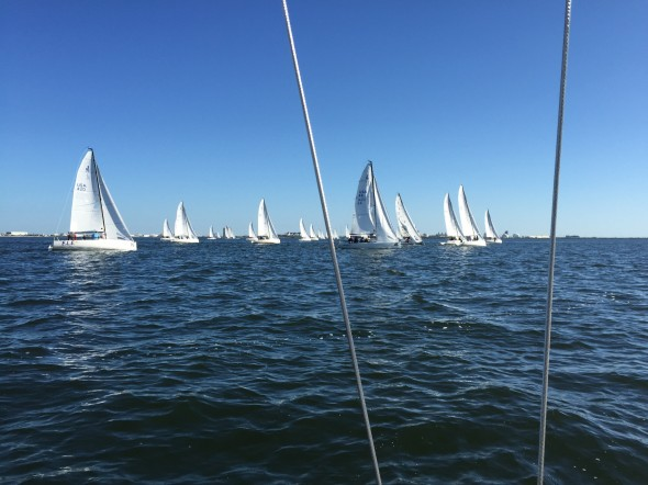 J/70 Winter Series day 2