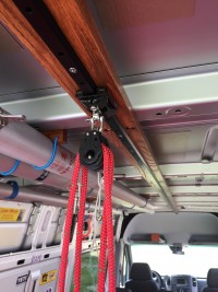 Sprinter Laser Hoist & Rail