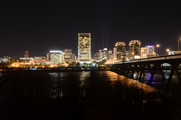 Richmond Skyline at Night